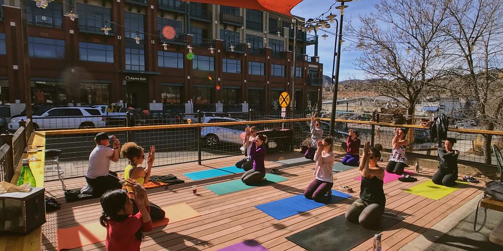 Durango Outdoor Yoga at 11th Street Station
