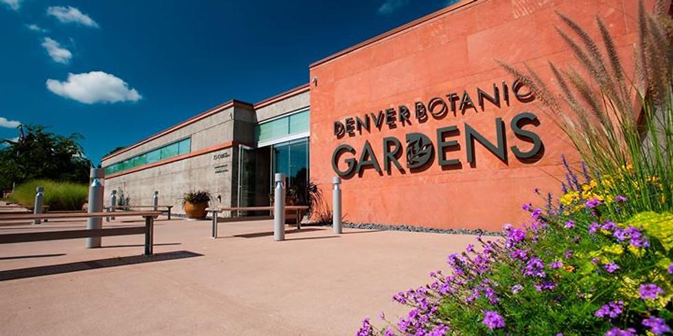 Denver Botanical Gardens Tour & Lunch