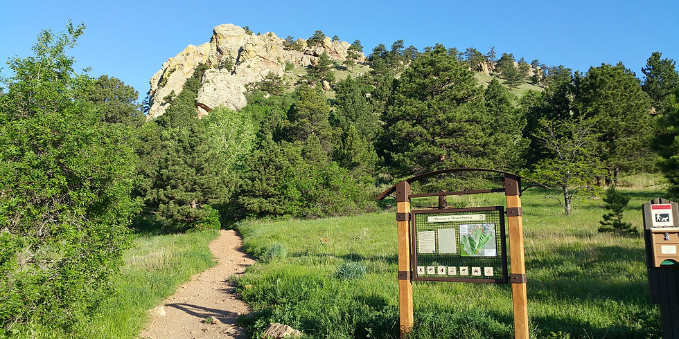 Boulder Sunset Hike on Mt.Sanitas