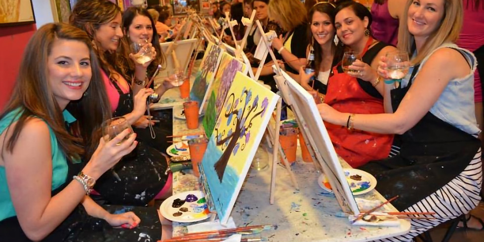 Denver Painting Class & a Beverage at Pinot's Palette