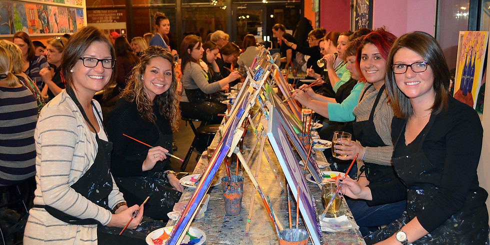 Grand Junction Painting Class & a Beverage at The Palette