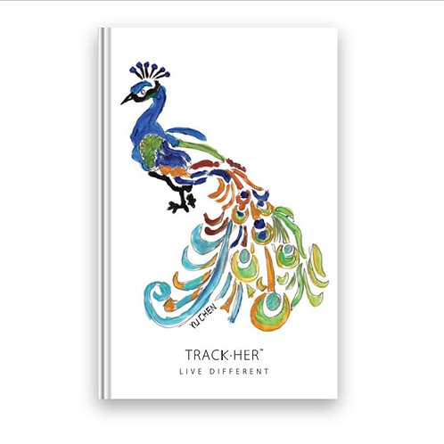 TrackHer Planner 2020 - Peacock