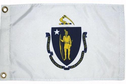 """Massachusetts 12"""" x 18"""""""