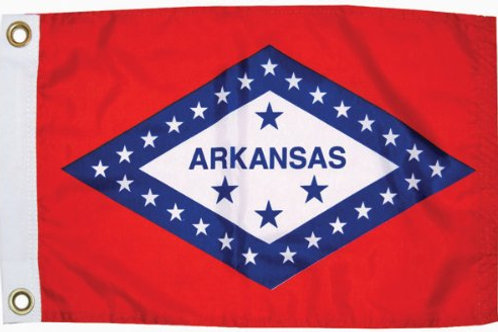 """Arkansas 12"""" x 18"""""""