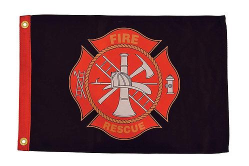 """Fire Rescue 12"""" x 18"""""""