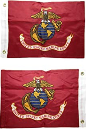 "USMC 12"" x 18"""