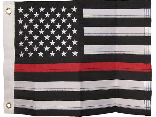 American Red Line Flag
