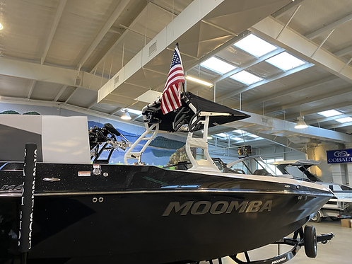 Moomba Vertical Side Tube Flag Bracket