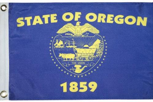 "Oregon 12"" x 18"""