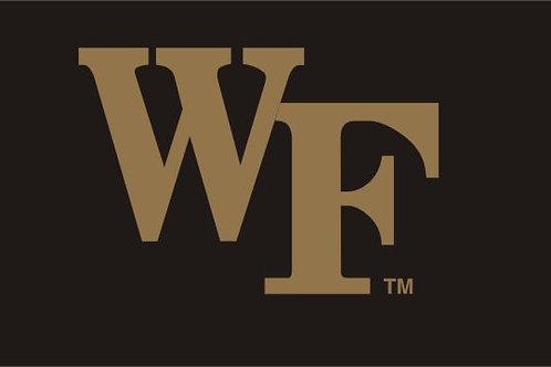 WAKE FOREST 2'X 3'
