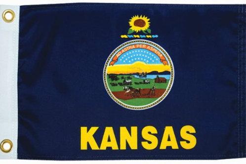 """Kansas 12"""" x 18"""""""