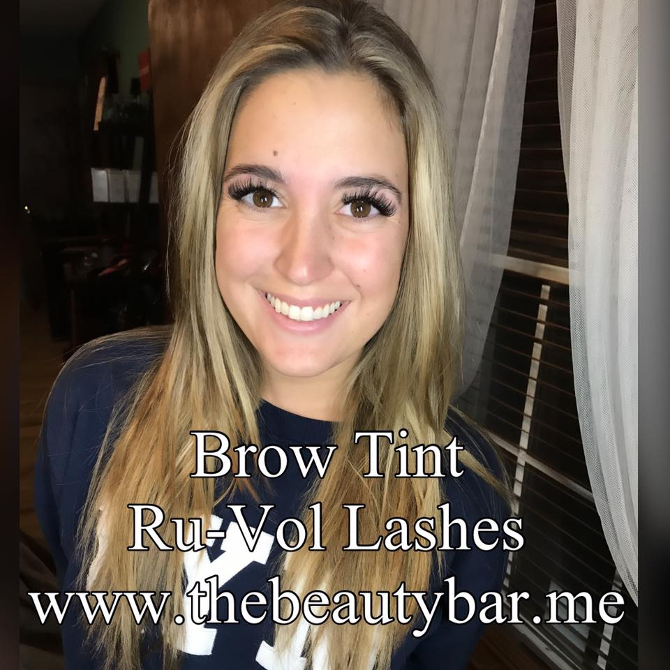 Brow Tint Russian Volume Lashes