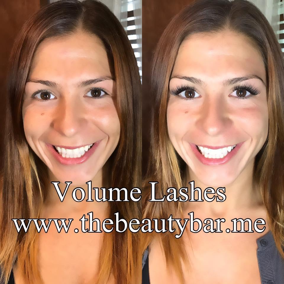 Volume Lash extensions