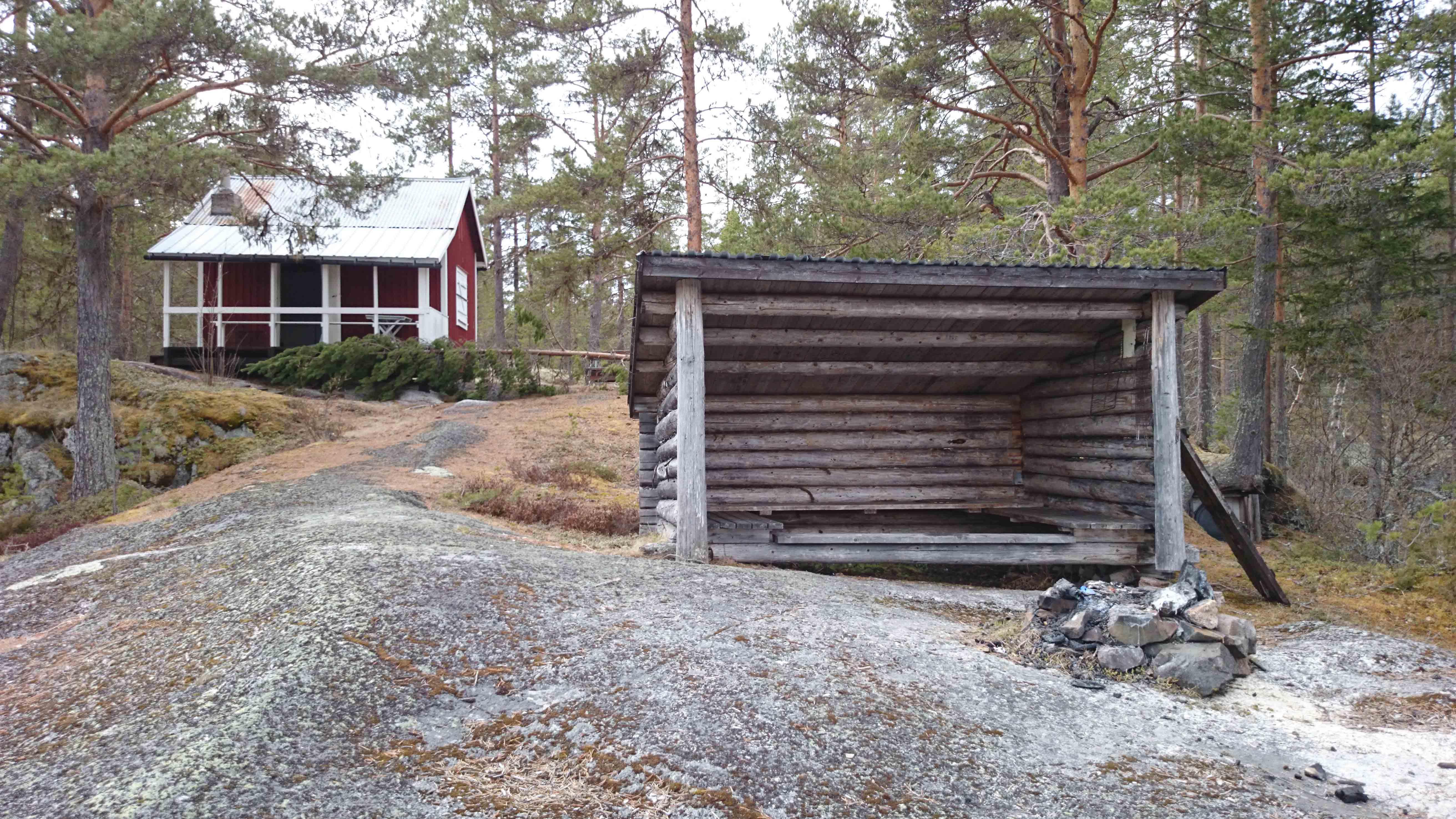 Skravelforsstugan - Gimån - Albacken