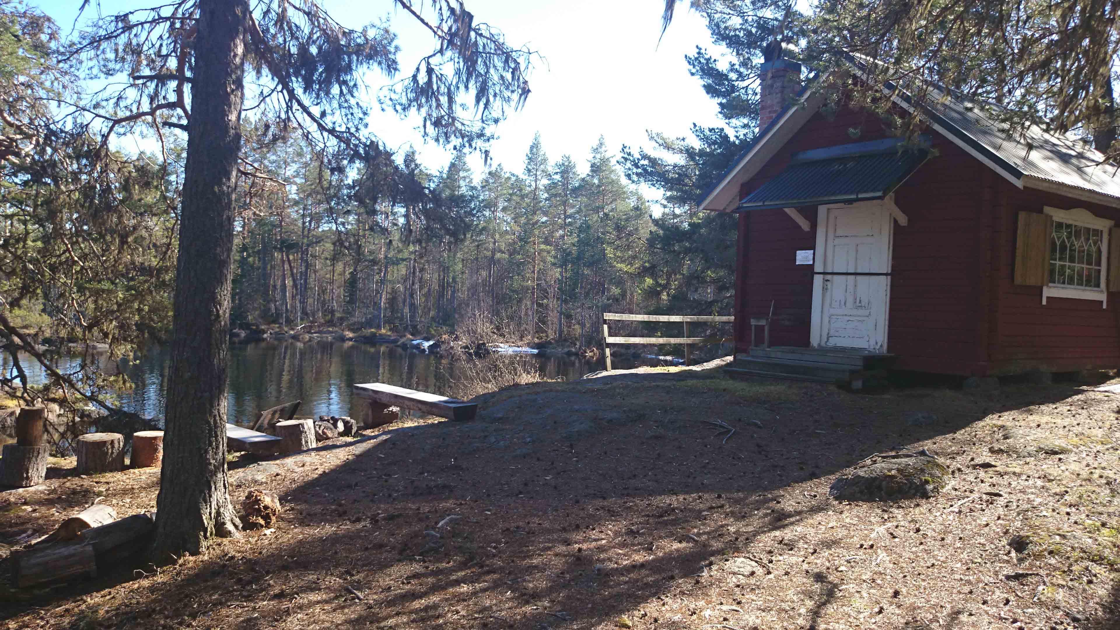 Båthällsstugan - Gimån - Albacken
