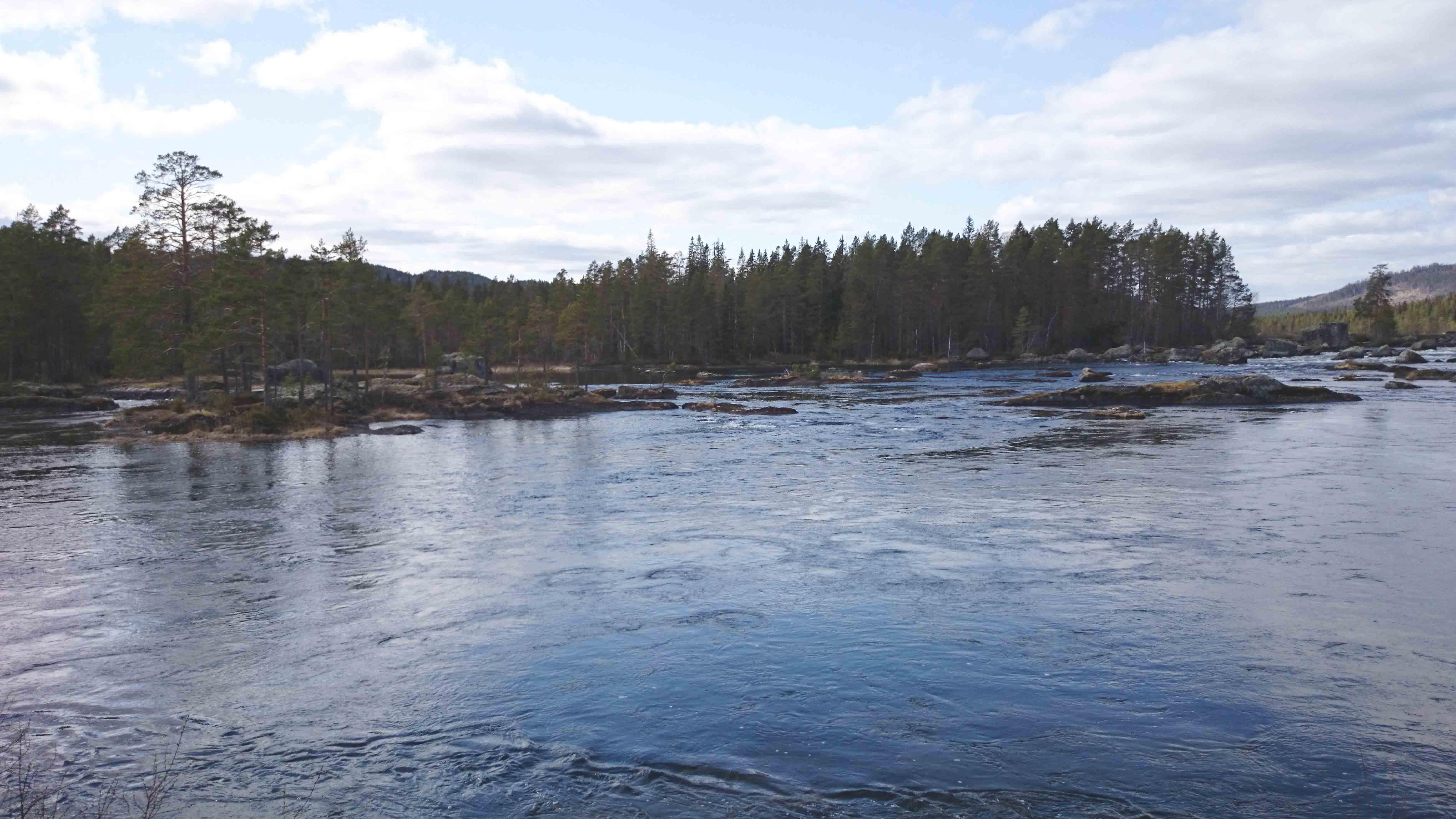 Täckelsjöforsen - Gimån - Albacken