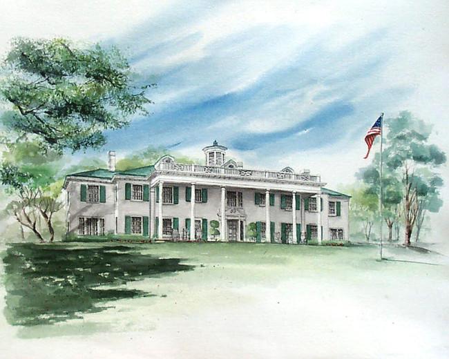 Former HL Hunt Residence