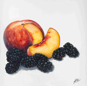 Peach and Blackberry (2018)