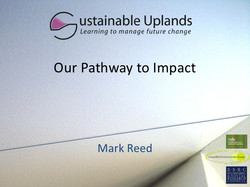 Sustainable Uplands