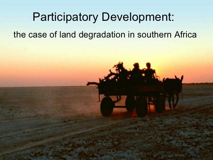 Participatory Development
