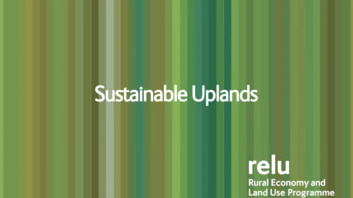 Sustainable Uplands Documentary