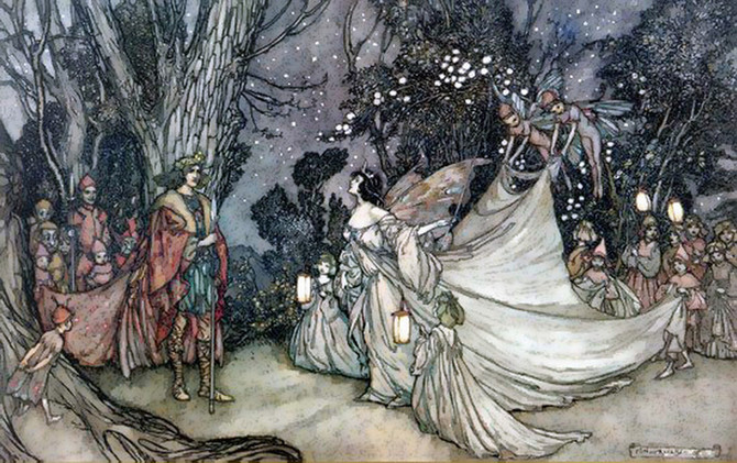 Arthur Rackham the Fairy's illustrator!