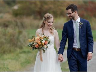 Autumn Bliss | Real Vermont Wedding