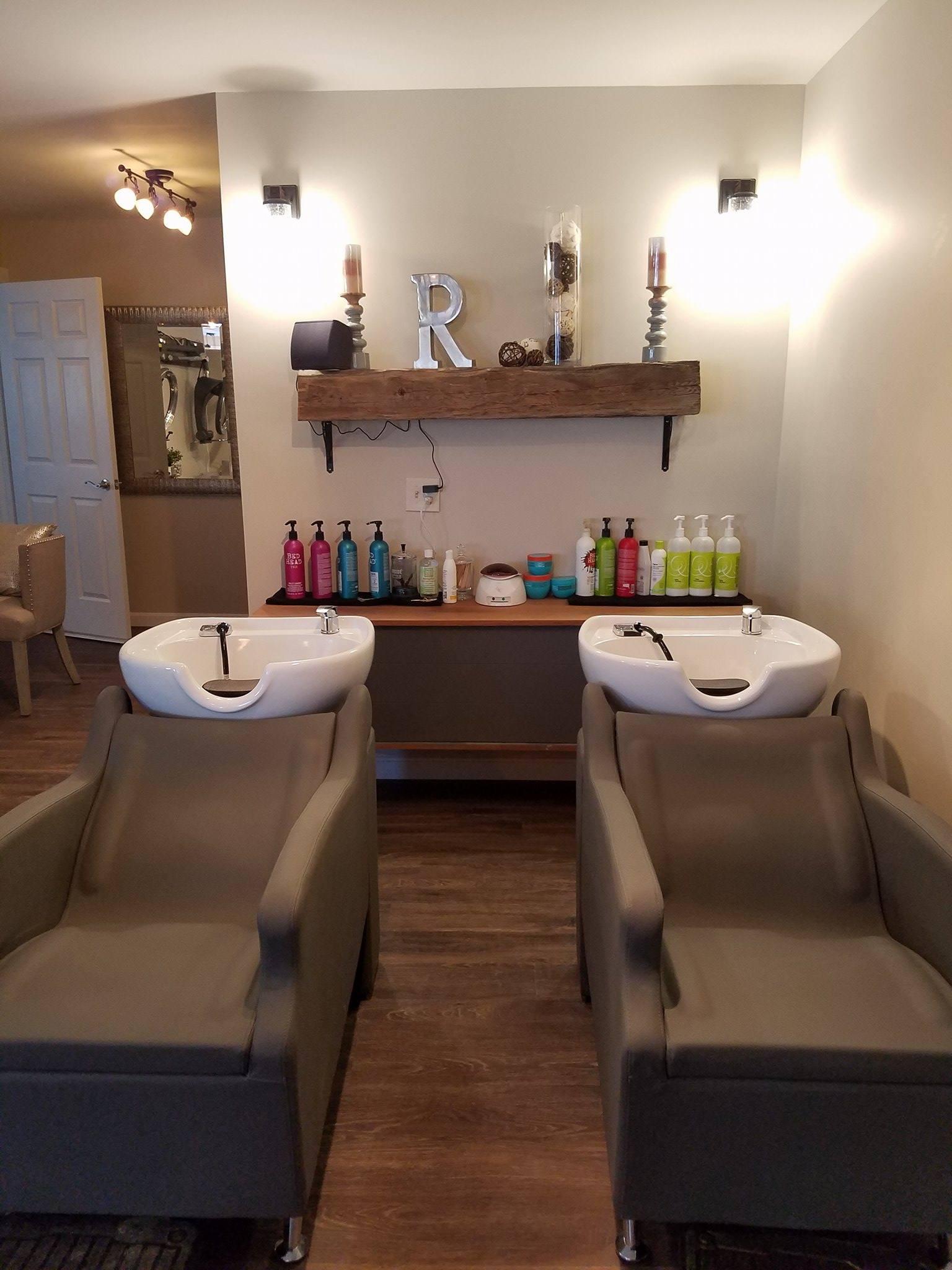 Revive Salon & Spa Washing Stations