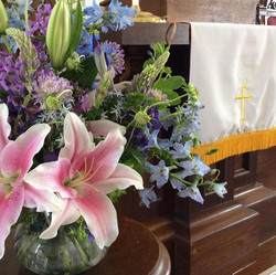 Trinity Sunday Flowers