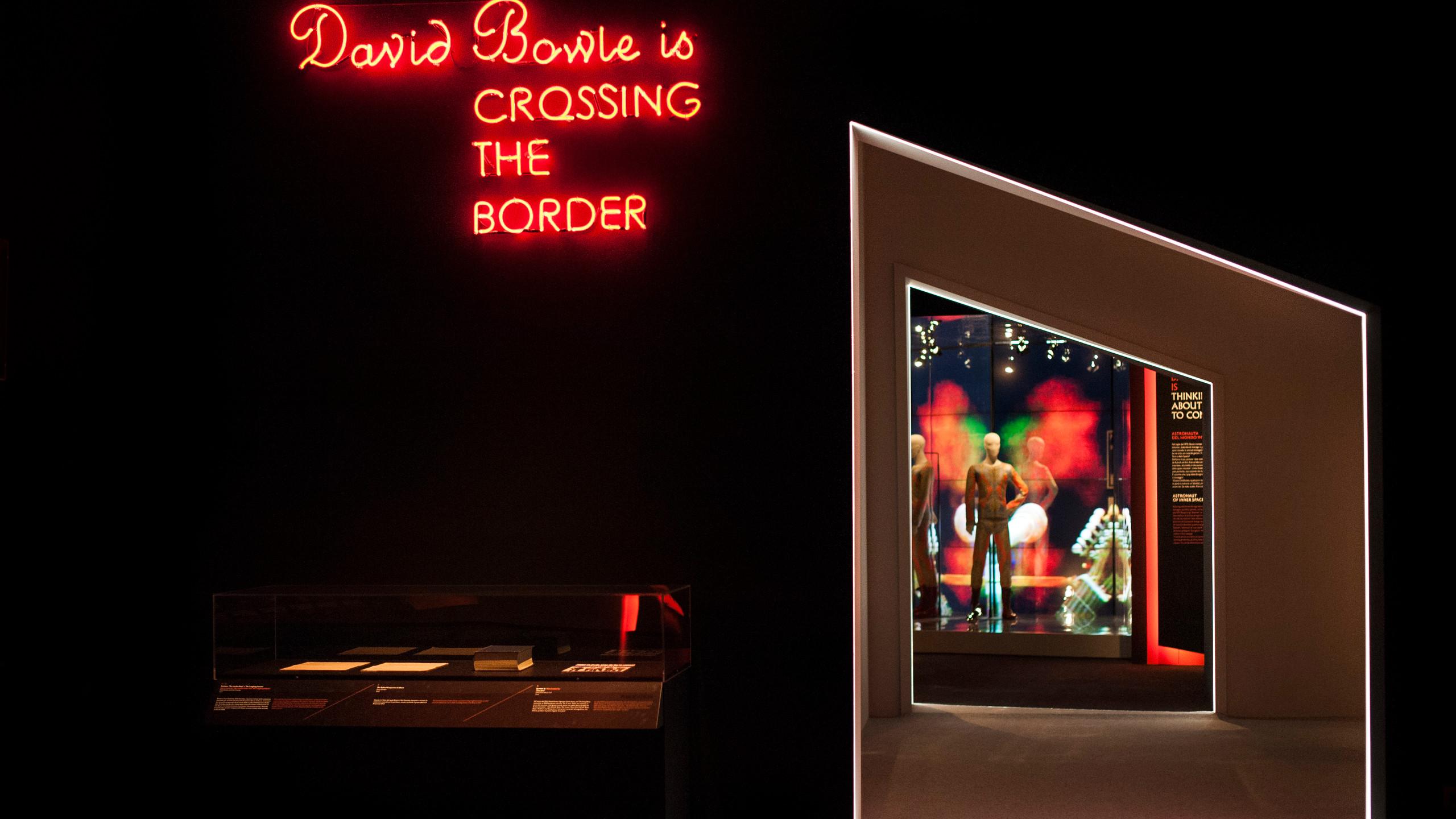 David Bowie is_MAMbo_veduta della mostra_10