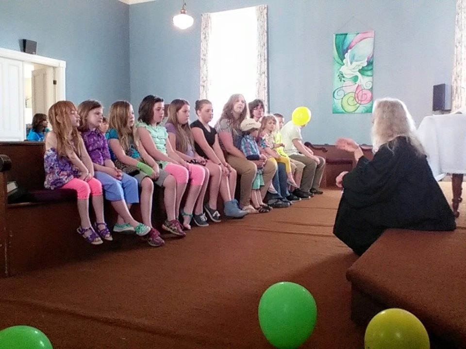 Kids at church