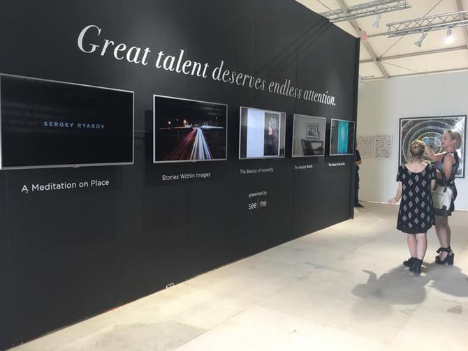 Elena Arzani's Artworks at Scope Art Fair 2015 - Miami