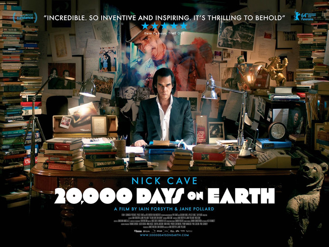 """20.000 Days on Earth"" di Ian Forsyth, Jane Pollard, con Nick Cave"