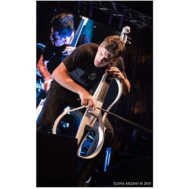 Instagram - Luka Sulic - 2Cellos - ph. Elena Arzani - Ferrara sotto le stelle - full gallery on www.