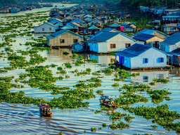 Building Nga Ba Bridges in An Giang
