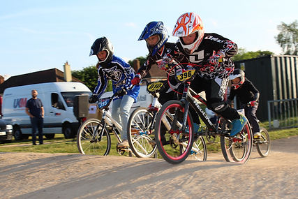Ipswich BMX Club racing