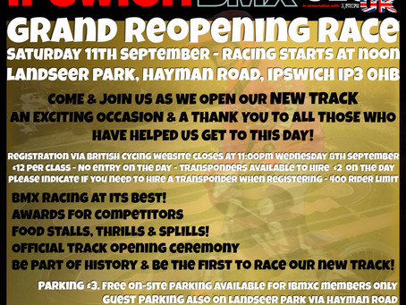 Grand Opening Race Meeting