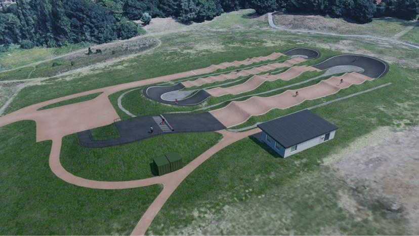 Landseer Park BMX track Ipswich