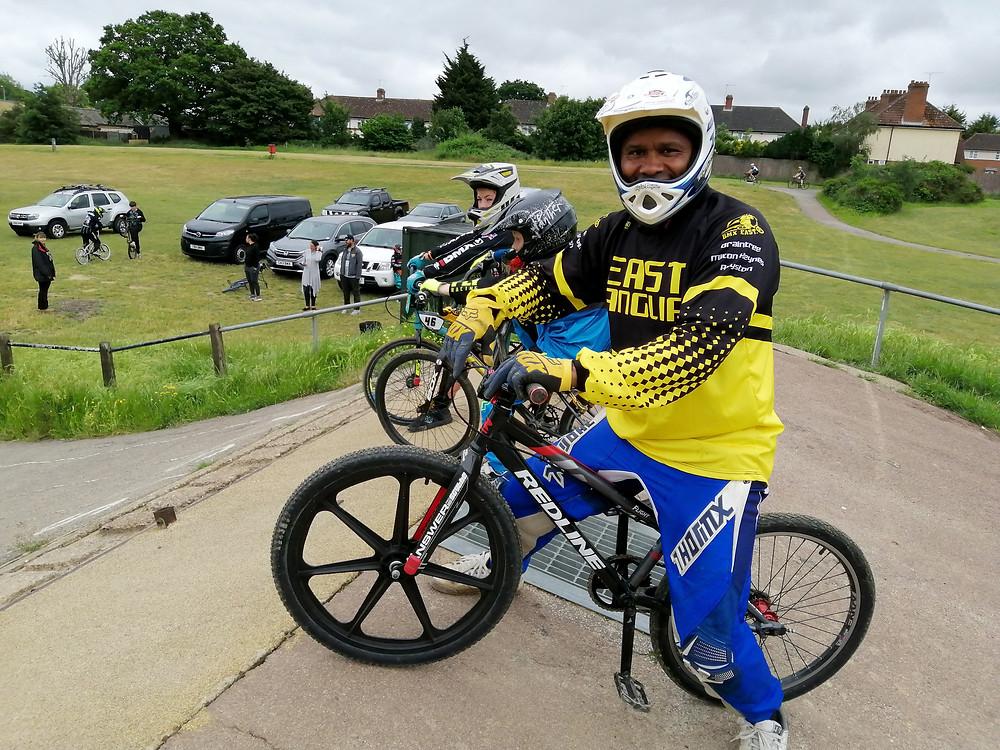 Ipswich BMX Club start hill