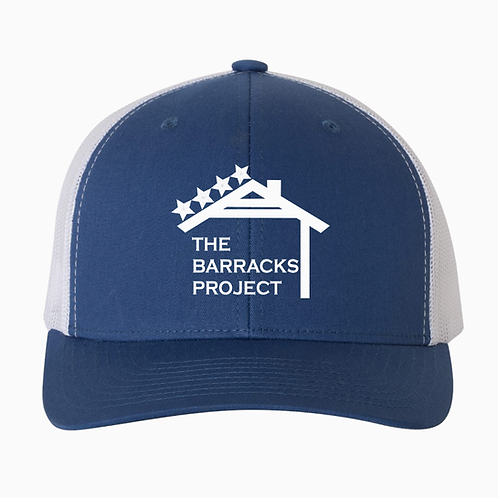 TBP Royal Blue Embroidered Hat