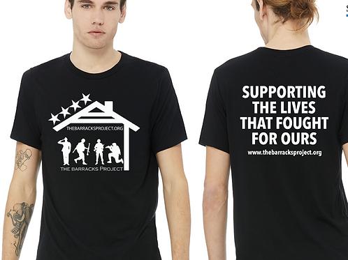 Tri -Blend TBP logo shirt black