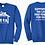 Thumbnail: JK1 Royal Blue Crewneck Inspired By Jim Knasel Senior