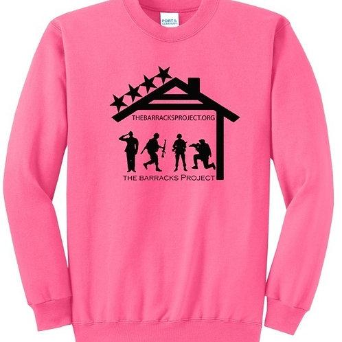 TBP Neon Pink Crewneck Sweatshirt