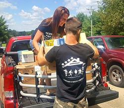 Donating items