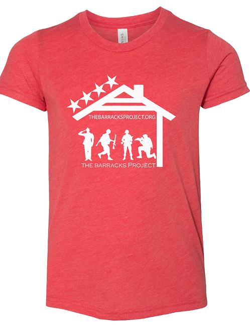 Youth TBP Red Logo T-shirt