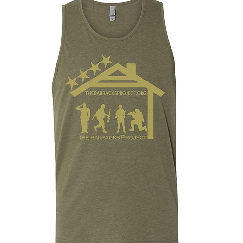 Olive Green Army Tank