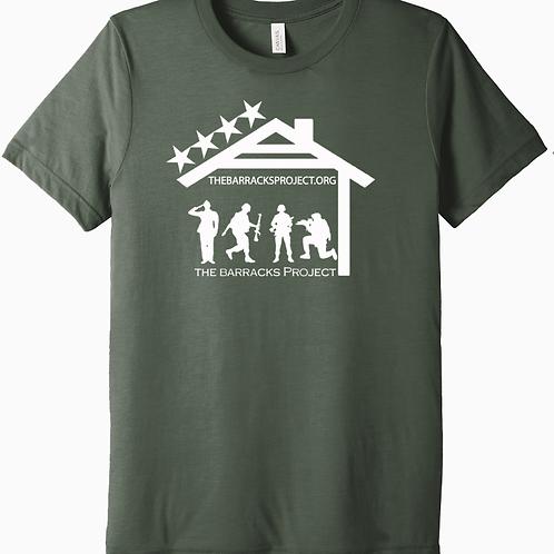 TBP Logo Military Green Tshirt