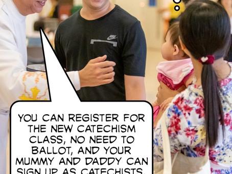 Catechism Class Registration 2019
