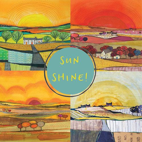 Sun Shine card pack