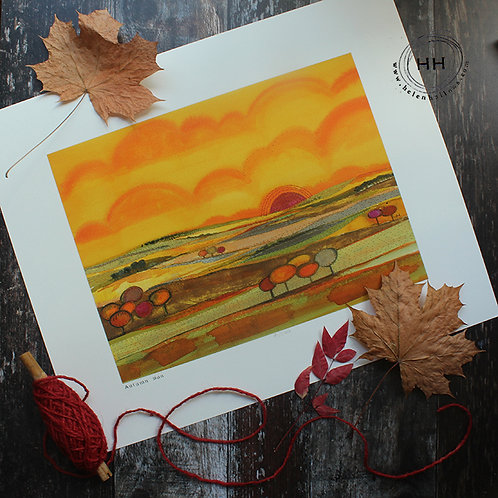 Autumn Sun - Limited Edition Print